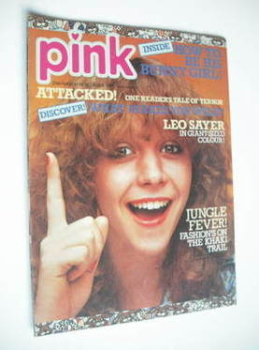 Pink magazine - 25 March 1978 - Leslie Ash cover