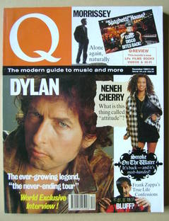Q magazine - Bob Dylan cover (December 1989)