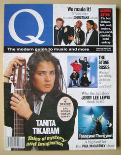 Q magazine - Tanita Tikaram cover (February 1990)