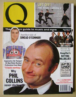<!--1990-03-->Q magazine - Phil Collins cover (March 1990)