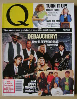 Q magazine - Fleetwood Mac cover (May 1990)