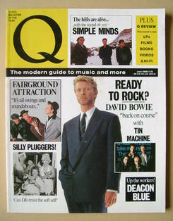 Q magazine - David Bowie cover (June 1989)