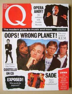 Q magazine - R.E.M. cover (December 1988)