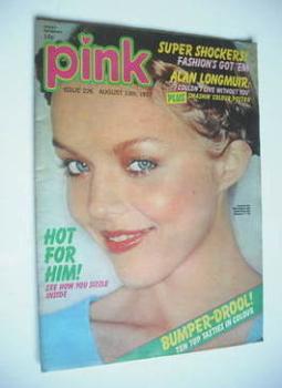 Pink magazine - 13 August 1977
