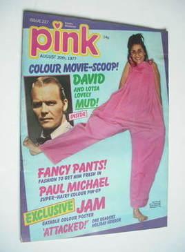 Pink magazine - 20 August 1977