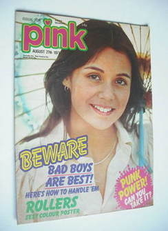 Pink magazine - 27 August 1977