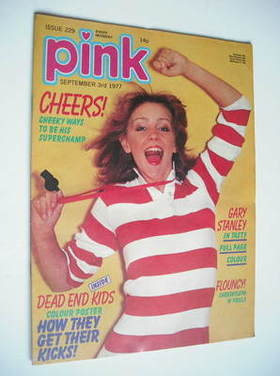 Pink magazine - 3 September 1977 - Leslie Ash cover