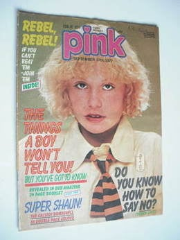 Pink magazine - 17 September 1977 (Issue 231)