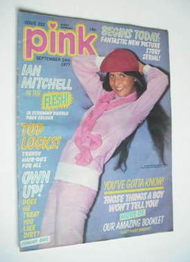 Pink magazine - 24 September 1977