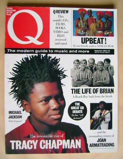 Q magazine - Tracy Chapman cover (September 1988)