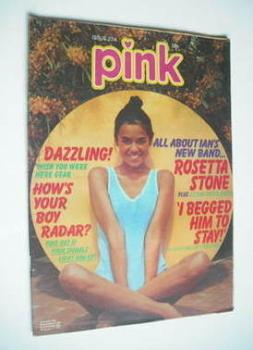 Pink magazine - 9 July 1977