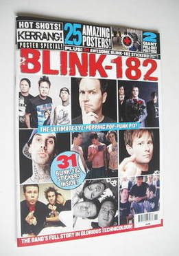 <!--2011-09-->Kerrang magazine - Blink 182 cover (Autumn 2011)