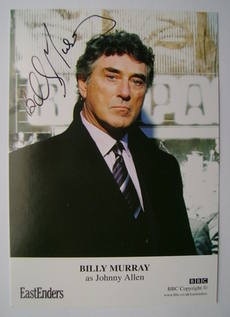 Billy Murray autograph (ex EastEnders actor)