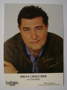 Brian Croucher autograph (ex EastEnders actor)