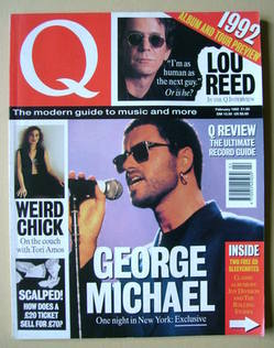 <!--1992-02-->Q magazine - George Michael cover (February 1992)