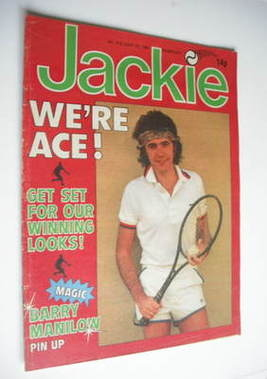<!--1981-06-27-->Jackie magazine - 27 June 1981 (Issue 912 - David Essex co