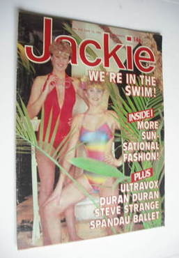<!--1981-06-13-->Jackie magazine - 13 June 1981 (Issue 910)