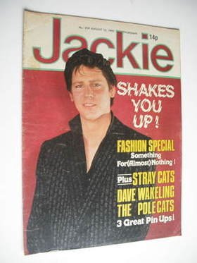 <!--1981-08-15-->Jackie magazine - 15 August 1981 (Issue 919 - Shakin' Stev