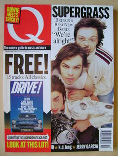 Q magazine - Supergrass cover (October 1995)