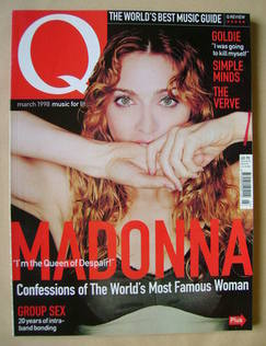 <!--1998-03-->Q magazine - Madonna cover (March 1998)