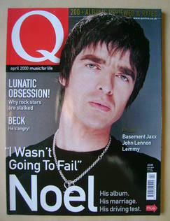 <!--2000-04-->Q magazine - Noel Gallagher cover (April 2000)