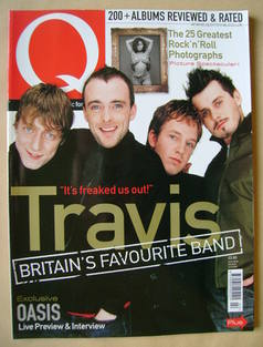 <!--2000-02-->Q magazine - Travis cover (February 2000)