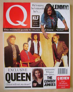 Q magazine - Queen cover (March 1991)