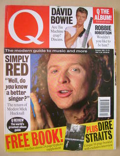 Q magazine - Mick Hucknall cover (October 1991)