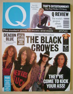 <!--1991-08-->Q magazine - The Black Crowes cover (August 1991)