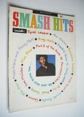 <!--1986-11-05-->Smash Hits magazine - Bob Geldof cover (5-18 November 1986
