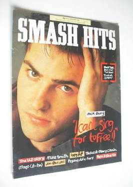 <!--1987-01-14-->Smash Hits magazine - Nick Berry cover (14-27 January 1987