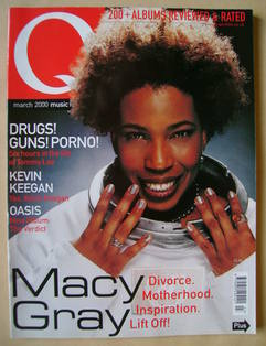 <!--2000-03-->Q magazine - Macy Gray cover (March 2000)
