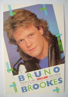 Bruno Brookes autograph