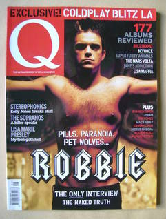 <!--2003-08-->Q magazine - Robbie Williams cover (August 2003)