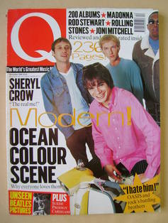 <!--1996-12-->Q magazine - Ocean Colour Scene cover (December 1996)