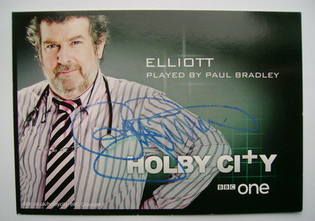 Paul Bradley autographed photo
