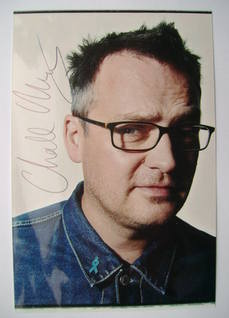 Charlie Higson autograph (hand-signed photograph)