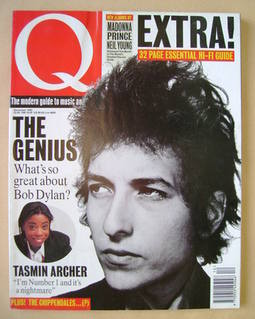 <!--1992-12-->Q magazine - Bob Dylan cover (December 1992)