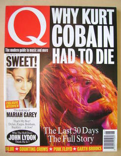 Q magazine - Kurt Cobain cover (June 1994)