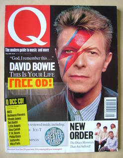 Q magazine - David Bowie cover (May 1993)