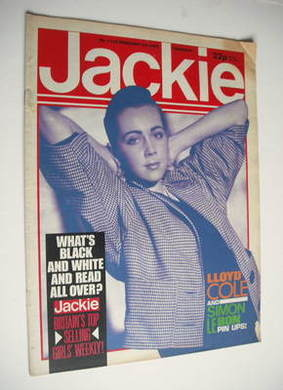 <!--1985-02-23-->Jackie magazine - 23 February 1985 (Issue 1103)