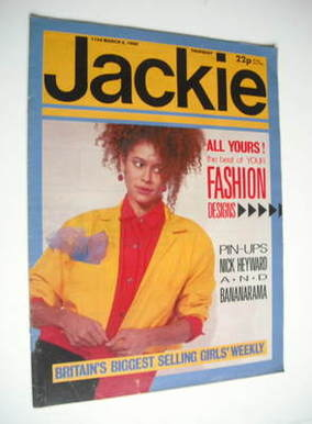 <!--1985-03-02-->Jackie magazine - 2 March 1985 (Issue 1104)