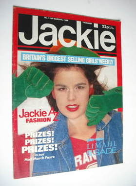 <!--1985-03-09-->Jackie magazine - 9 March 1985 (Issue 1105)