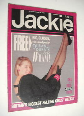 <!--1985-03-16-->Jackie magazine - 16 March 1985 (Issue 1106)