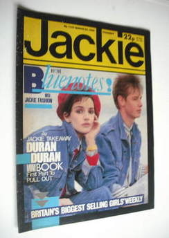 <!--1985-03-23-->Jackie magazine - 23 March 1985 (Issue 1107)