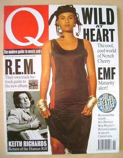 Q magazine - Neneh Cherry cover (November 1992)