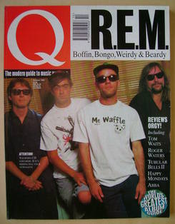 Q magazine - R.E.M. cover (October 1992)