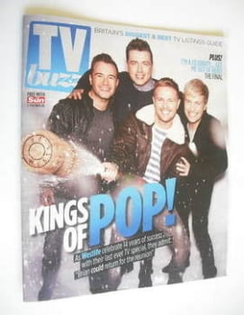 TV Buzz magazine - Westlife cover (3 December 2011)