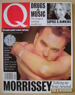 Q magazine - Morrissey cover (September 1992)