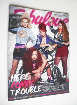 <!--2011-11-26-->Fabulous magazine - Little Mix cover (26 November 2011)